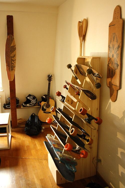 Next project, longboard wrack for the apartment