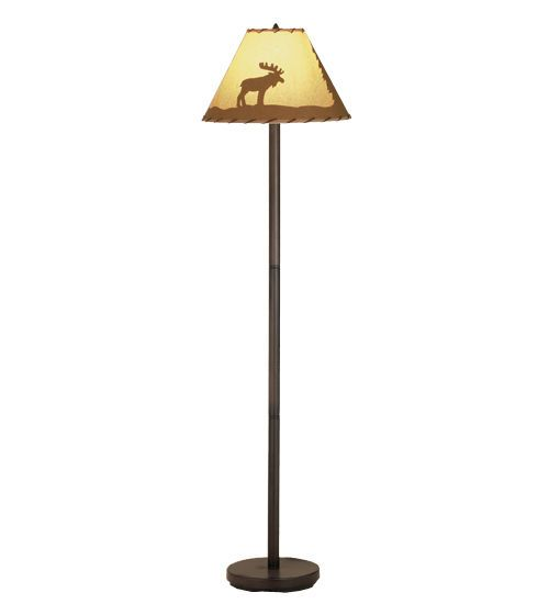 44 best moose lamp images on pinterest buffet lamps elk and moose meyda 48464 lone moose painted floor lamp 60 tall meyda tiffanystyle aloadofball Choice Image