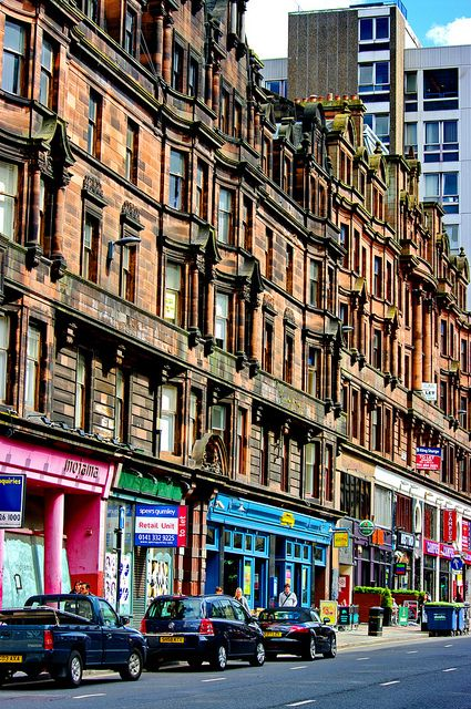 Scotland, Glasgow 3 Sauchiehall Street - I went to Glasgow in 1976, 1978 & 1980 and I remember shopping in Treron's.