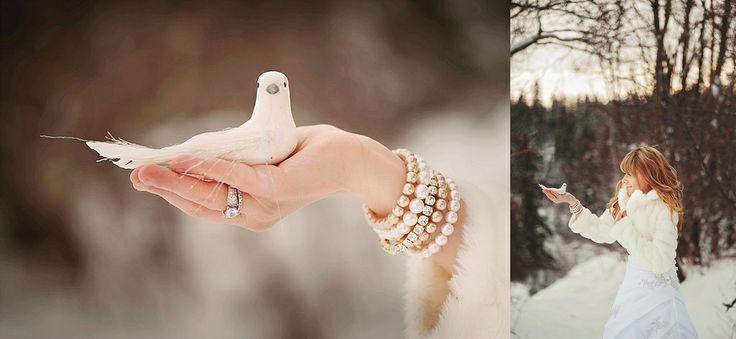 Winter Wedding Inspiration LIFEDOTSTYLE Edmonton Wedding