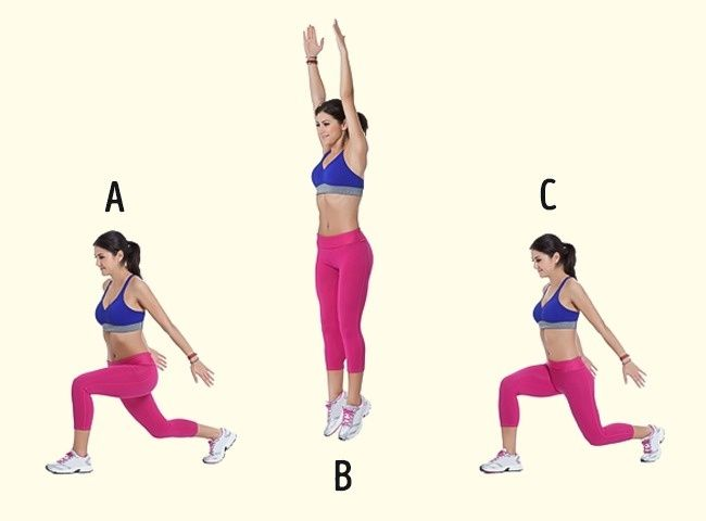 Simple exercises that will give you slender legs.