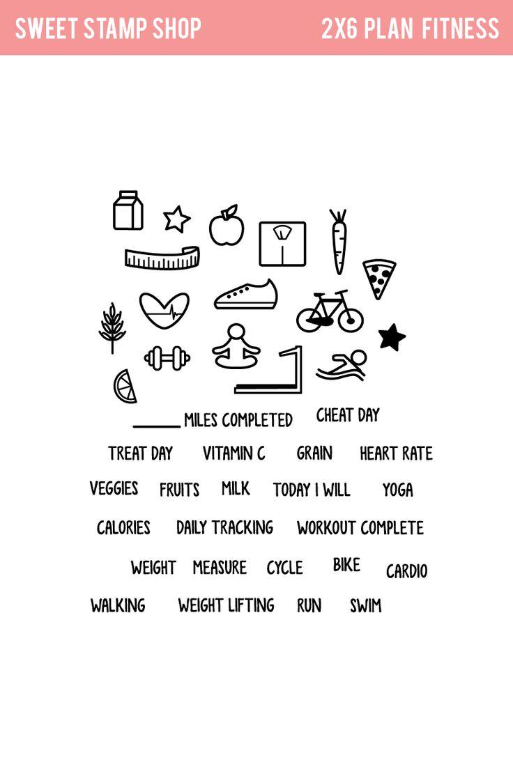 Plan Fitness - Sweet Stamp Shop