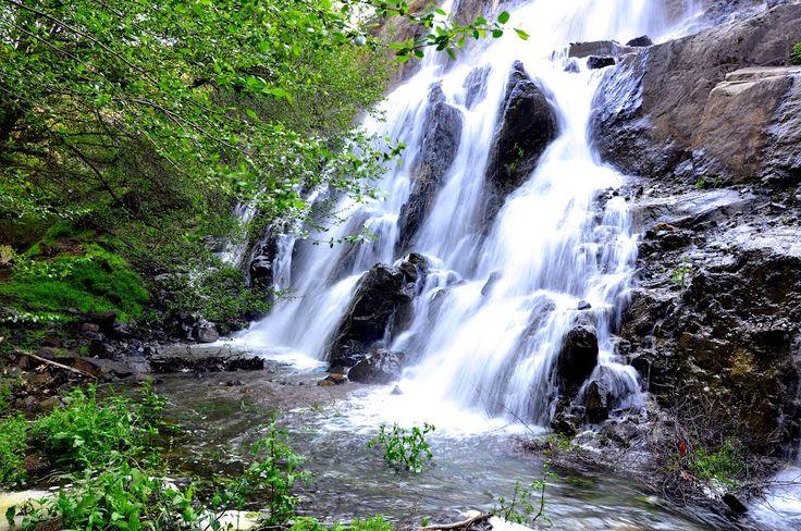 Beautiful waterfall, Cyprus