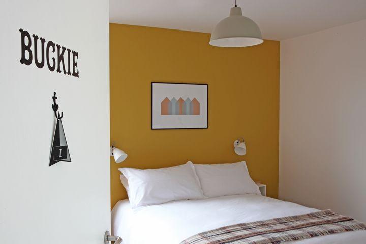 Hotel bedroom design, The Inn at John O'Groats, Natural Retreats, NoChintz