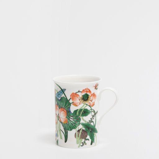 ???ItxProductPage.image.alt.nonumber??? Floral porcelain mug
