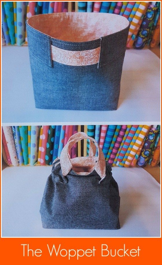 The Woppet Bucket – Sew and Promote