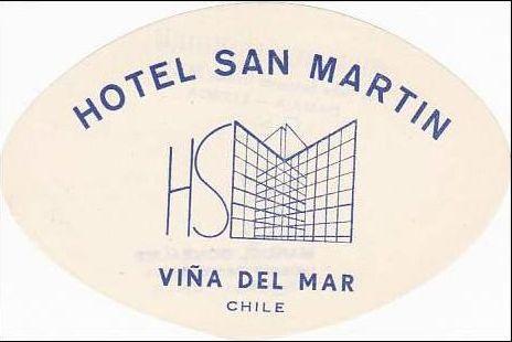 Primer logo de #HSMChile. Viña del Mar, Chile.  #Turismo #HSM #Hotelería #Chile #ViñadelMar.