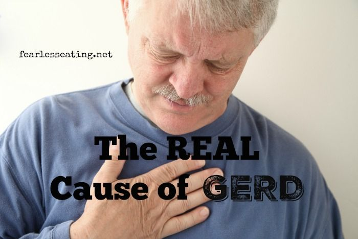 A recent study about the real cause of GERD suggested that acid reflux is NOT the true culprit. While it is certainly a factor in the symptoms of acid reflux, there is a deeper cause for WHY acid refluxes into the esophagus.