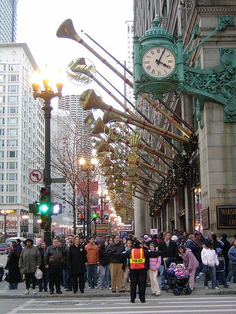 Marshall Field's (now Macy's) State Street.  The Grand Dame of Chicago shopping.  This was Field's flagship store.