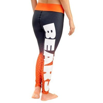 Women's Chicago Bears Navy Blue Gradient Leggings - CHRISTMAS PRESENT PLEASE!!!!