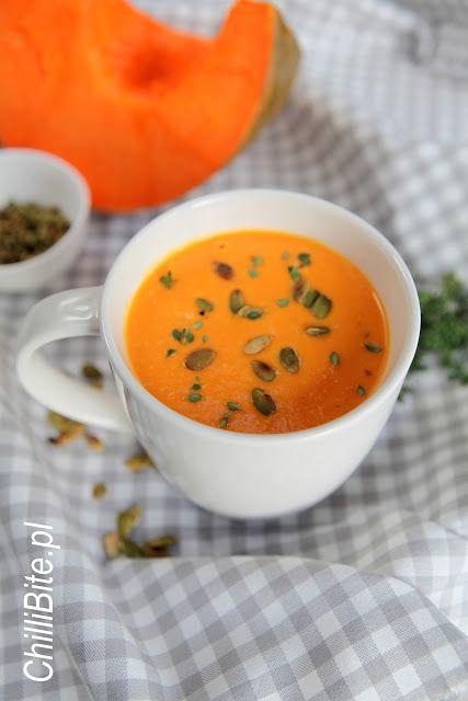 Bursztynowa zupa krem z dyni
