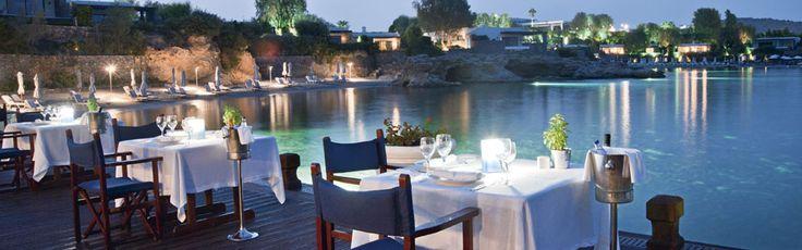 #Galazia #Akti #Cuisine #Cretan Nestled in the west-cliffside of Captain's house, #Galazia #Akti #restaurant