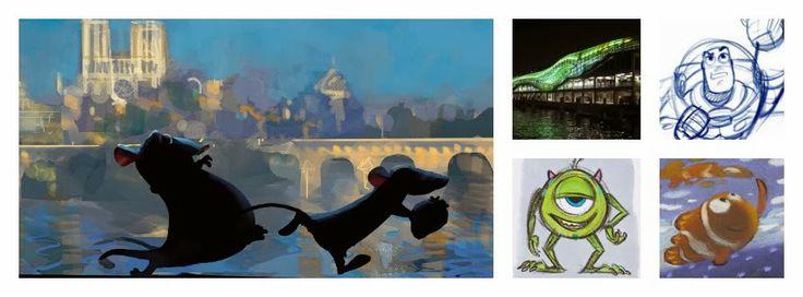 Expo Pixar 25 ans d'animation au Musée des Arts Ludiques