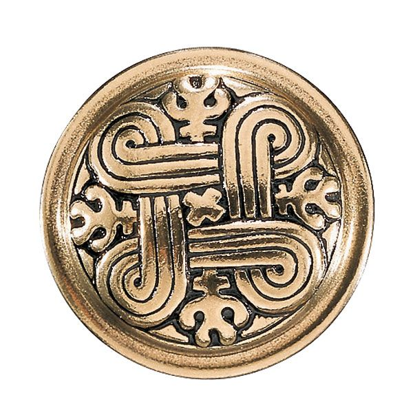 ST. JOHN'S ARMS BROOCH, material: bronze or silver