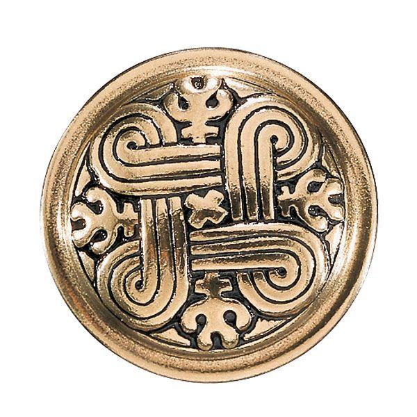 Kalevala Koru / Kalevala Jewelry / ST. JOHN'S ARMS BROOCH, material: bronze or silver