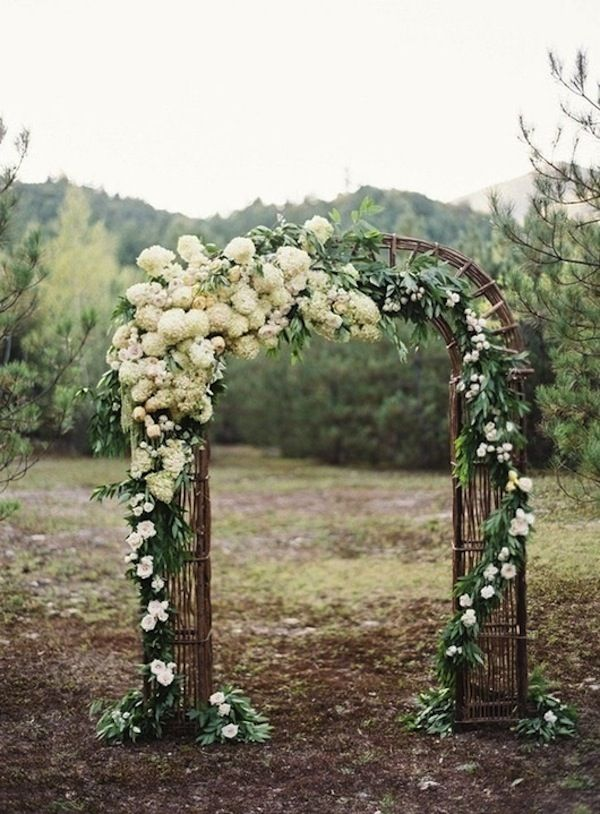 #Outdoor #Wedding Ceremony same site but closer to what I was thinking... Like the flowers in the other one better though..
