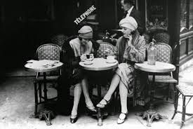 french cafe 1940s - Google Search
