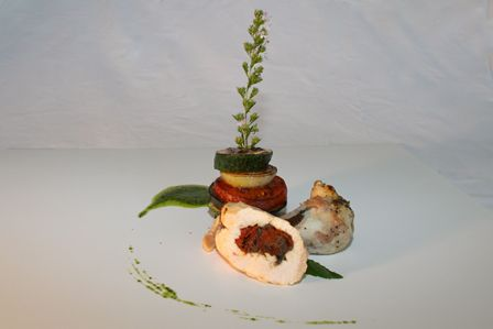 Id e recette cave beetschen viande blanche et volaille plat principal gastronomique supr me de - Recette plat gastronomique ...