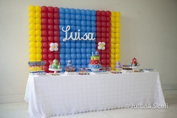 Como fazer painel com Balões para Festas