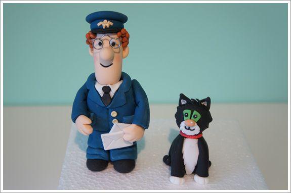 Postman Pat Cake Figures