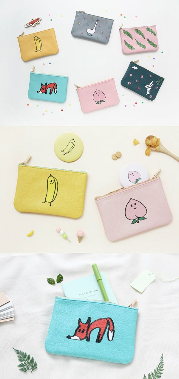 When I wanna travel lightly or organize some of my small items, I always use the JAM JAM Handy Leather Pouch! This pouch makes it easy to store your small items, and are absolutely cute and colorful as well!
