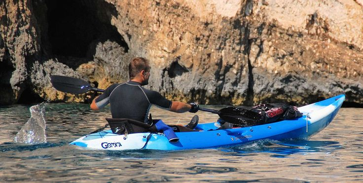 Zakynthos kayak exploring
