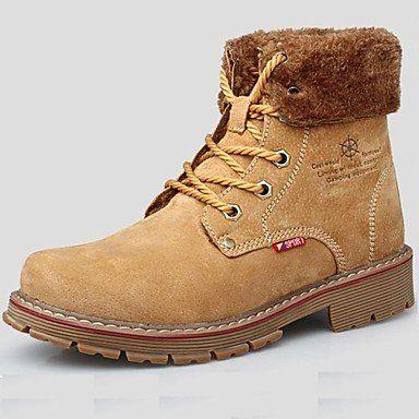 Love & scarpe scarpe da uomo Outdoor/Ufficio & carriera/Lavoro e dovere/Party & Sera/Casual Stivali scamosciati Blu/Giallo/Kaki, Blue, us8 / eu40 / uk7 / cn41