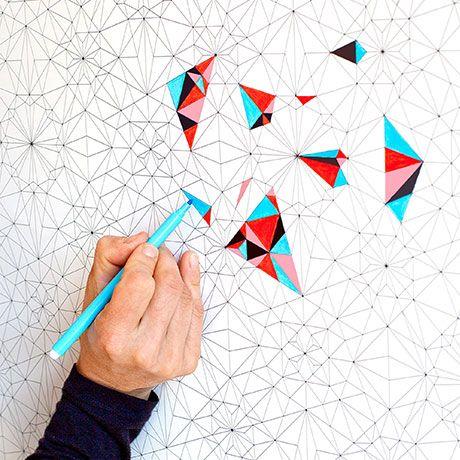Do It Yourself Wallpaper by Version/Papier #MONOQI #DIY