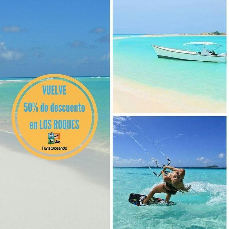 Empezamos la semana con esto!! Vuelve 2x1 LOS ROQUES. . Déjanos tu correo y recibe la información detallada. Recorre el mundo con nosotros.  http://ift.tt/1iANcOy  #YoViajoLuegoExisto  #ViajoLuegoExisto #GoPro #Goprove #TravelHolic #HallazgoSemanal #Venezuela #Trips #Vsco #SaltoAngel #AngelsFall #Canaima #Venezuela #AhoraLeTocaAlTurismo #AquiNoSeHablaMalDeVenezuela #SembradaEnVenezuela #Viajes