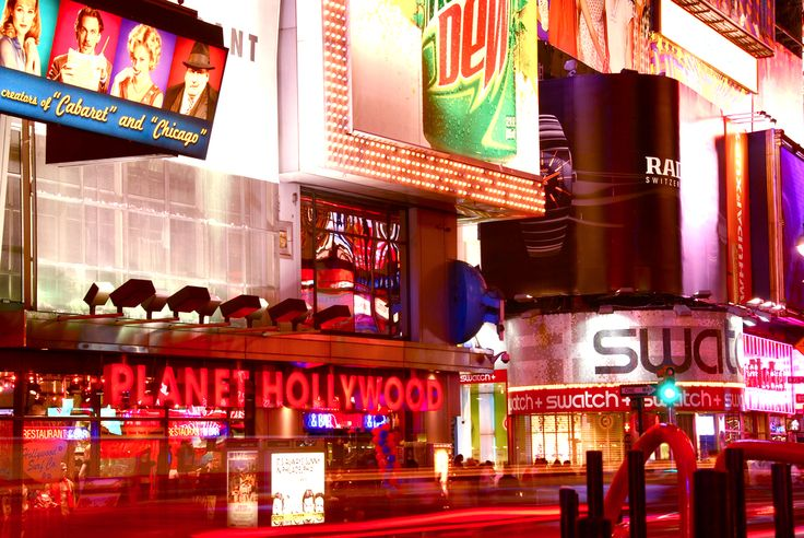 Planet Hollywood - New York, Amerika