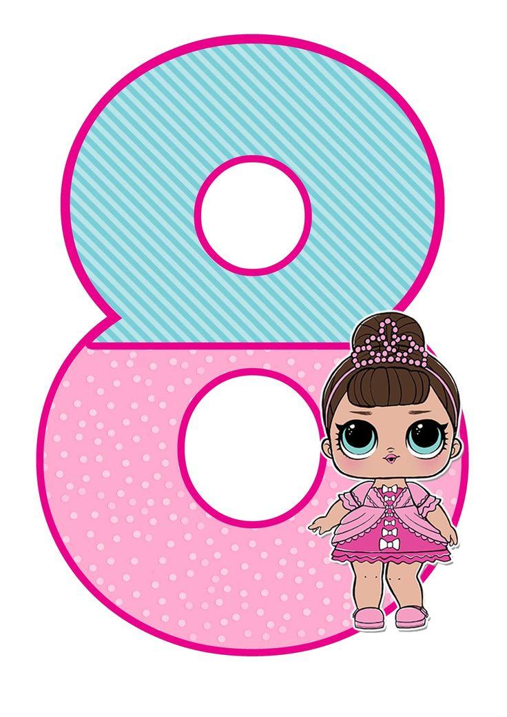 Поздравления с днем рождения девочке 5 лет картинка лол