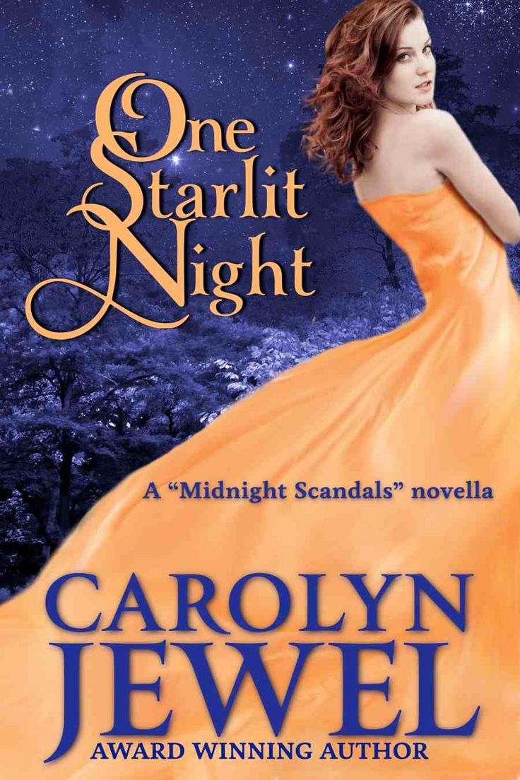 Previous Cover For One Starlit Night, A Novella That Originally Appeared In  The Anthology Midnight