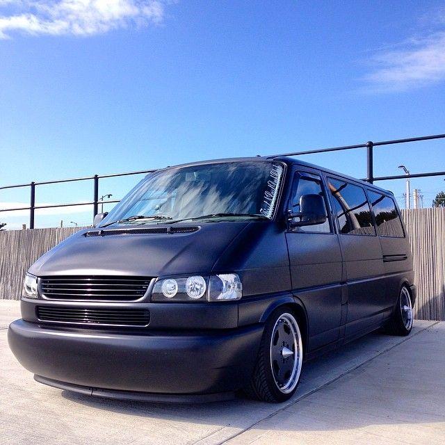 VW T4 - Long nose - matte black - http://instagram.com/333morgan333