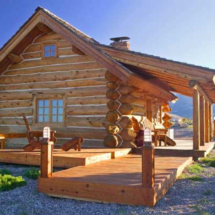 21 Best Log Cabins Images On Pinterest