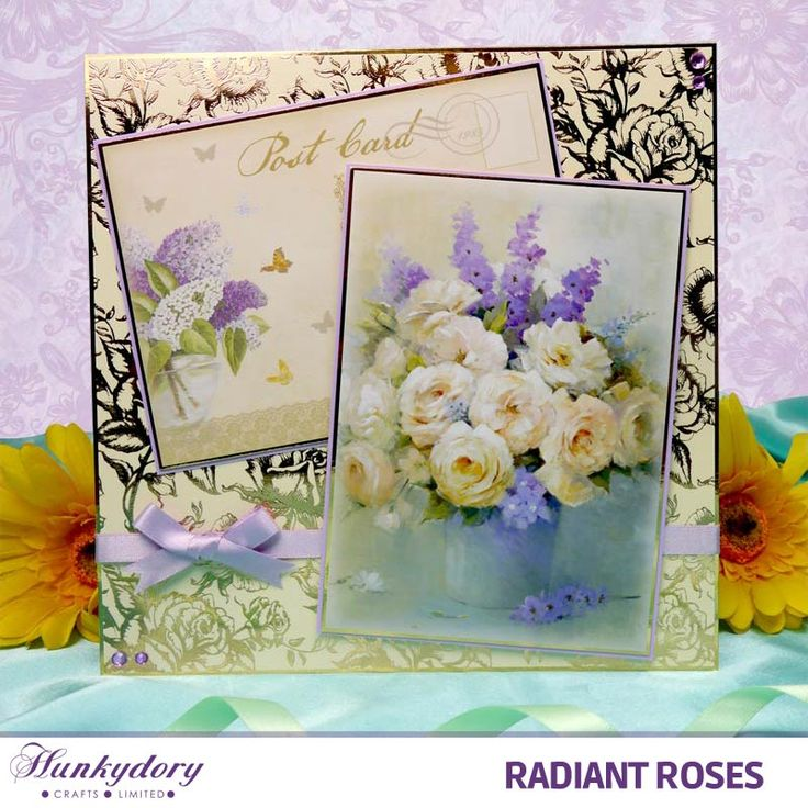 Radiant Roses | Hunkydory Crafts