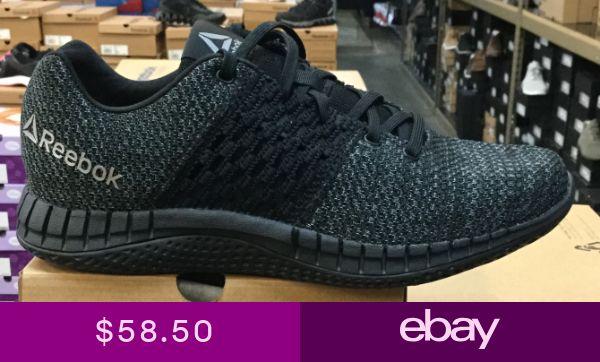 146275dd030a Reebok Print Run ULTK Mens Running Shoes BlackCoalDustPewter CN1113 ...