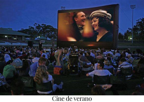 Cines de verano en Madrid