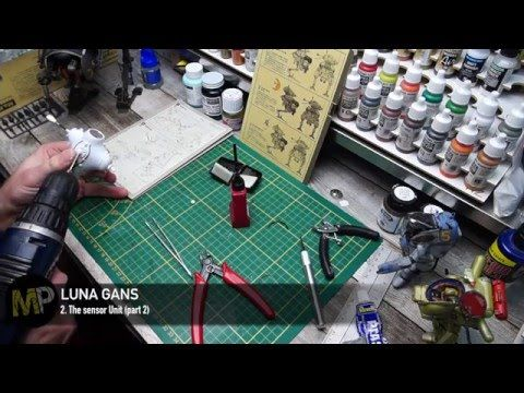 Building the Ma.K LUNA GANS part 2 [The sensor unit, part 1/2] - YouTube