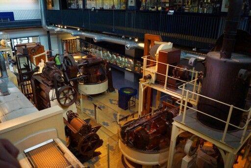 Verkade  museum in de zaanse schans.