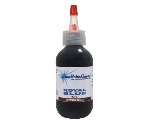 Starbrite Tattoo Ink - Royal Blue 1 Oz - TAT2 Supplies.