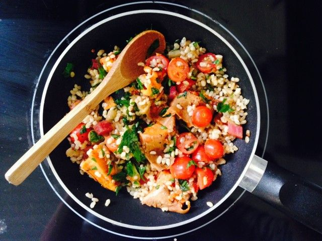 Recipe Share – Quick Lunch Bowl  #plantbased #lunch #dinner #ideas #vegetables #delicious #nutritious #recipes
