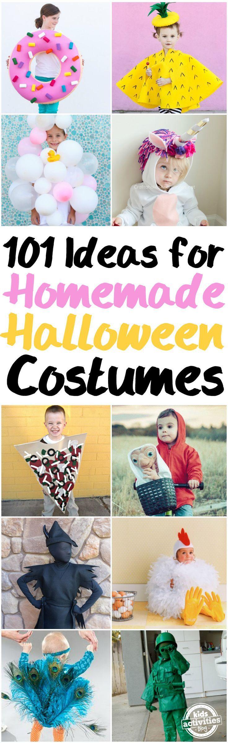 Homemade Halloween Costumes via @Holly Homer