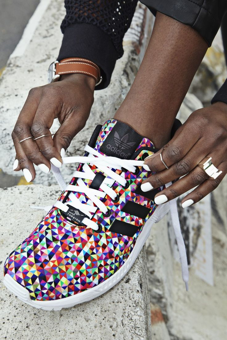 There are 3 tips to buy these shoes: adidas sneakers colorful geometric adidas  originals running adidas zx flux adidas multicolor multicolor sneakers low  ...