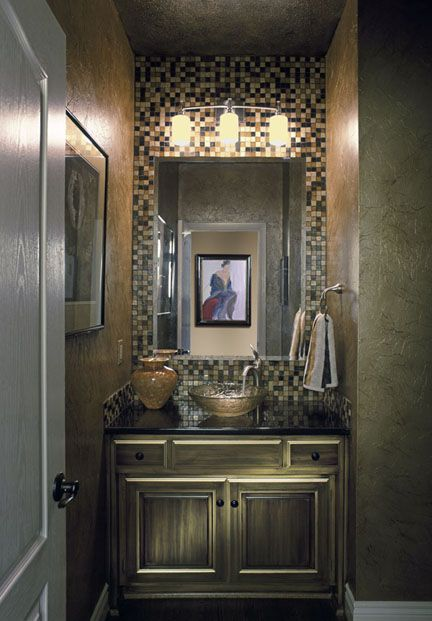 79 Best Small Powder Room Images On Pinterest Bathroom