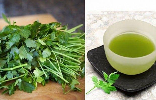 Le thé au persil pour la perte de poids est un excellent allié ...
