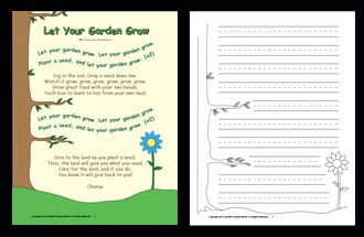Let Your Garden Grow Song and Lesson: Songs for Teaching® Educational Children's Music