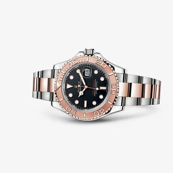 La elegancia deportiva de un modelo profesional Rolex.