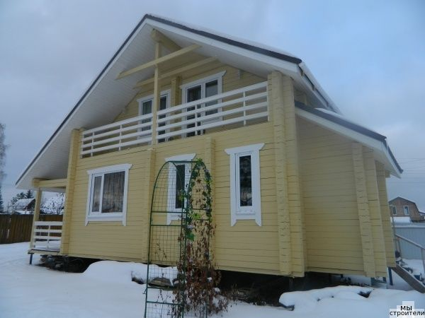 Строительство деревянных домов,бань из профилированного и обрезного бруса. — Строительный портал - социальная сеть для строителей.
