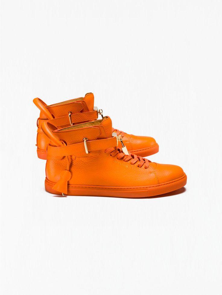 BUSCEMI , Turuncu 100 MM Gold Sneaker Kadın #shopigo#shopigono17#shoponline#womenswear#sneakers