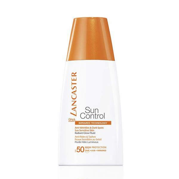 BUY NOW Lancaster Sun Control Anti-Wrinkles and Dark Spots Sun Sensitive Skin Fluid Spf50 30ml